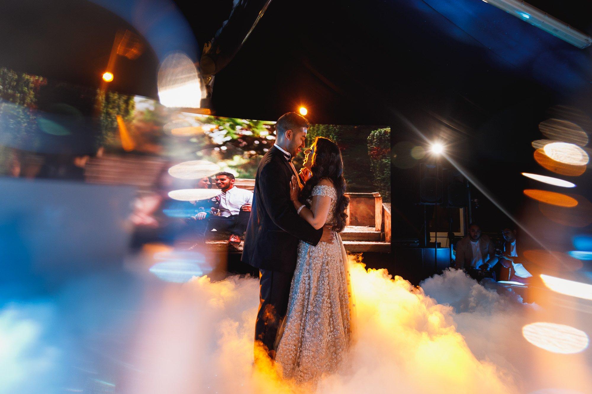 Dunchurch Park Hotel, Asian wedding photographer Midlands, first dance