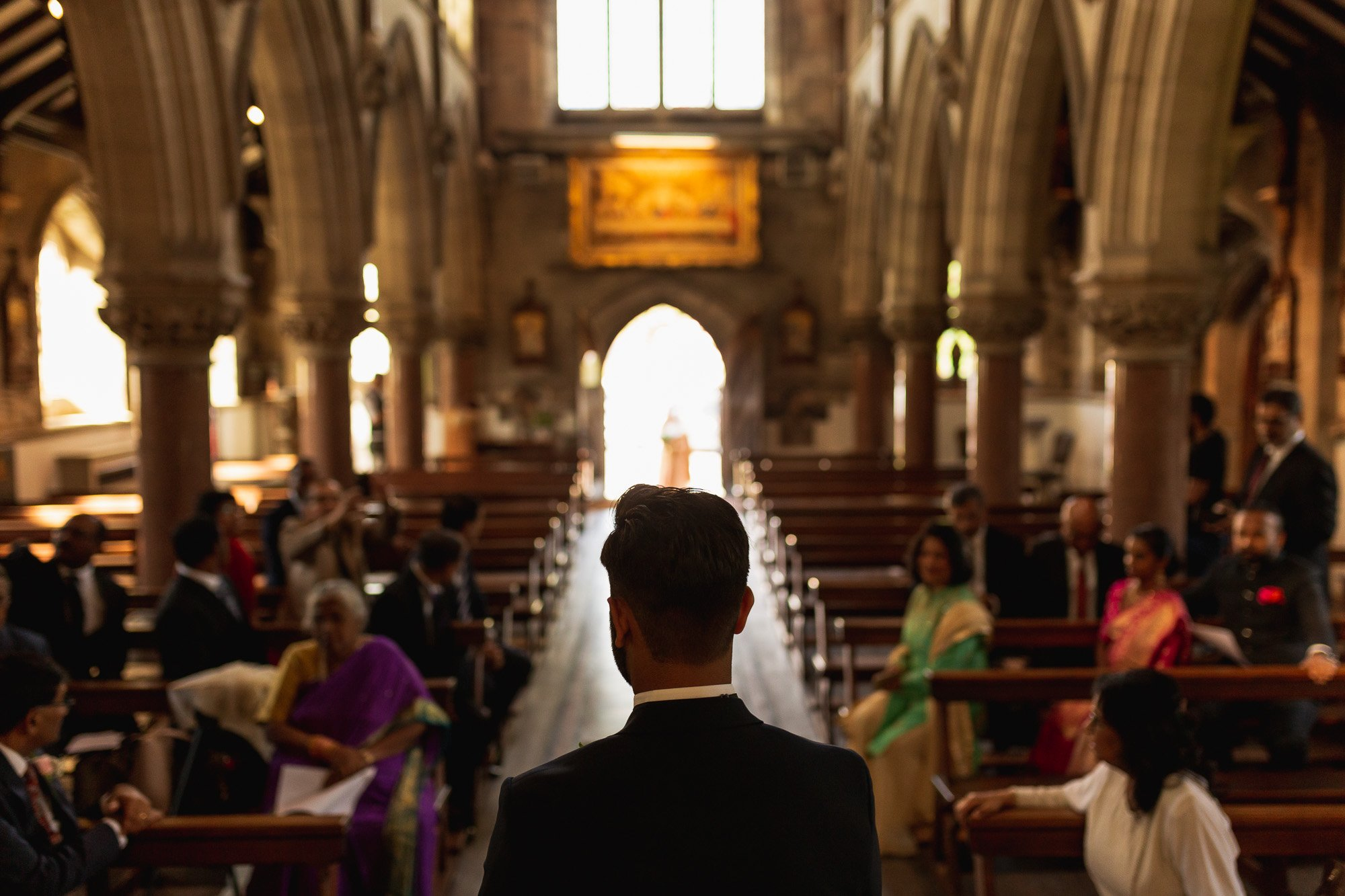 Rudding Park, Yorkshire, Asian Wedding Photography, church blessing