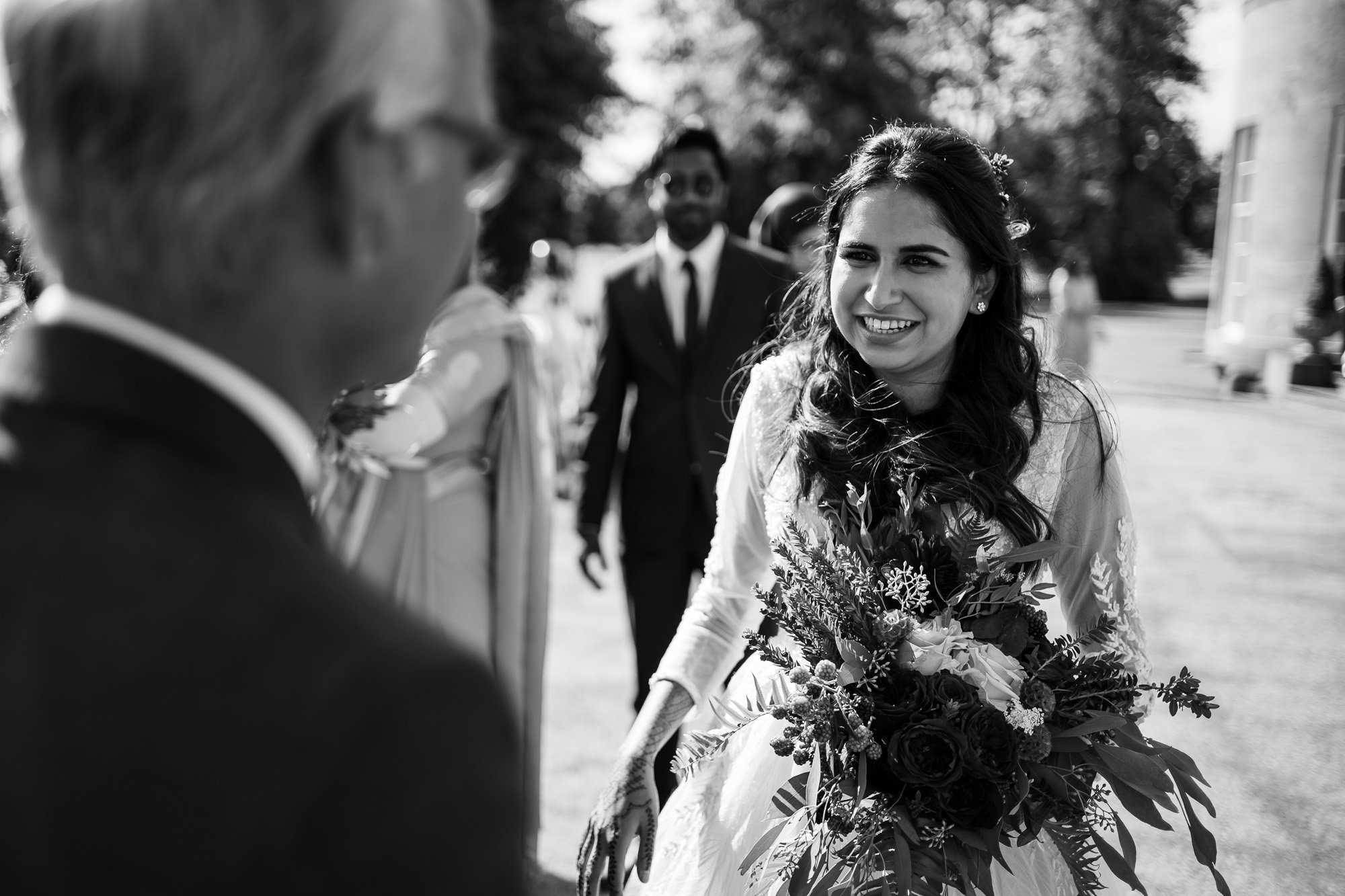 Rudding Park, Yorkshire, Asian Wedding Photography, bride