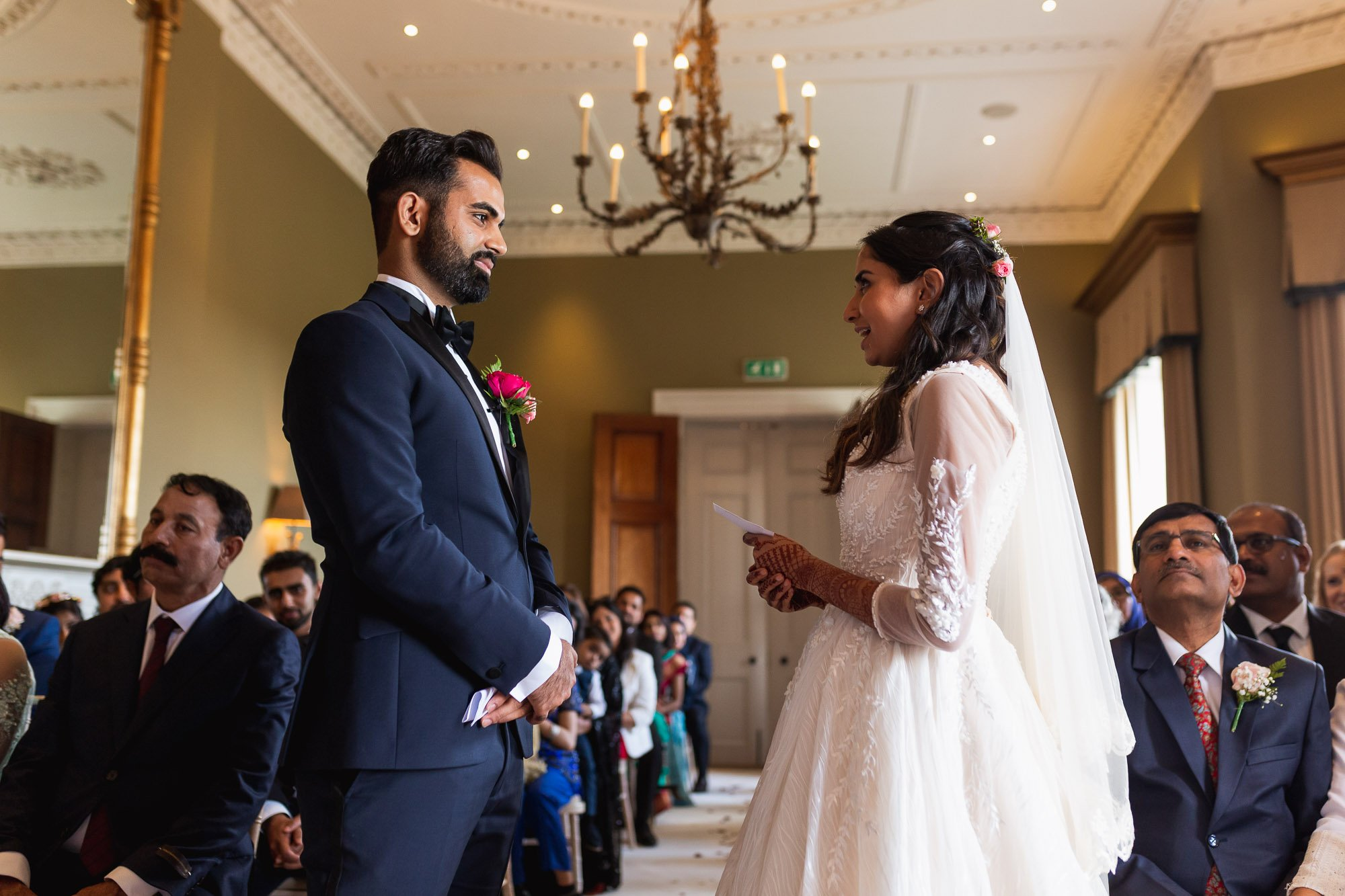 Rudding Park, Yorkshire, Asian Wedding Photography, civil ceremony