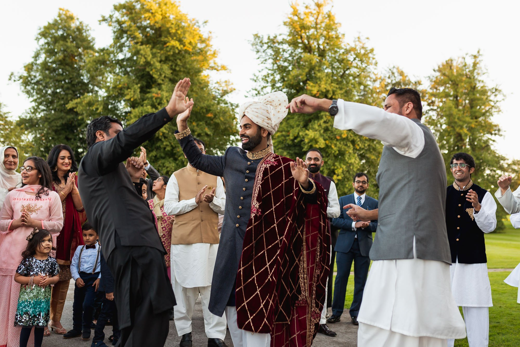Rudding Park, Yorkshire, Asian Wedding Photography, Bharat entrance
