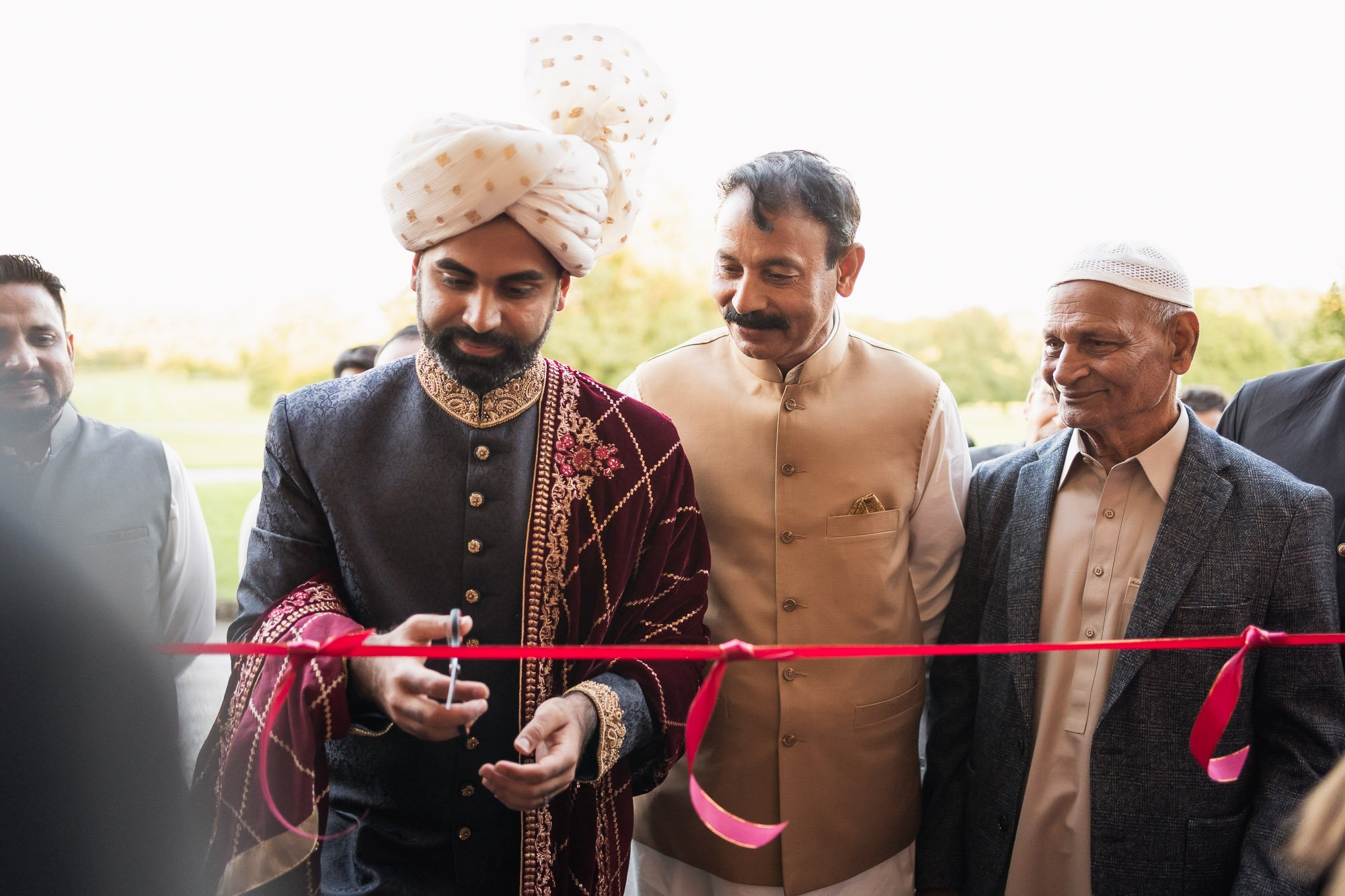 Rudding Park, Yorkshire, Asian Wedding Photography, grooms entrance