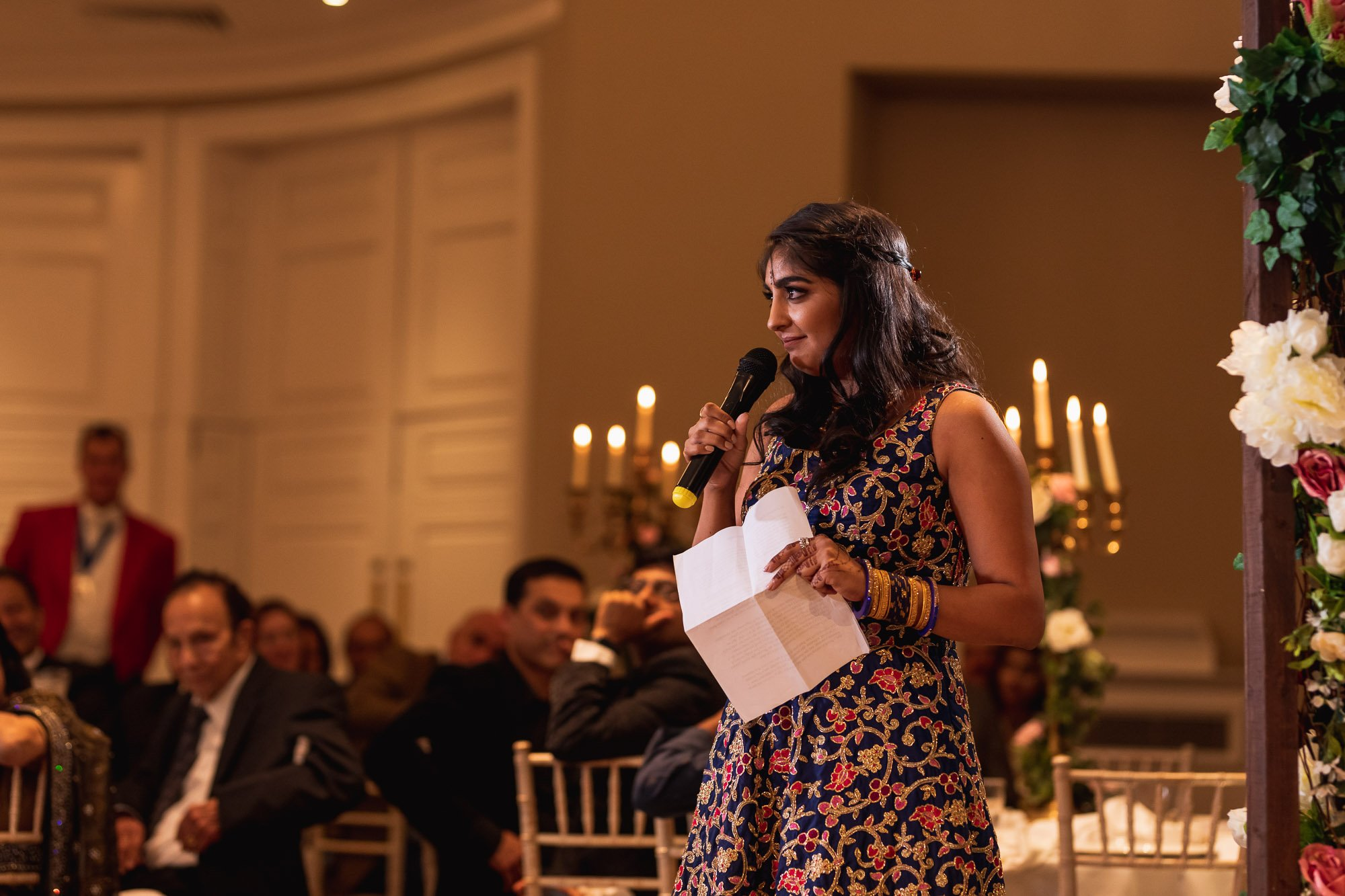 Rudding Park, Yorkshire, Asian Wedding Photography, speeches