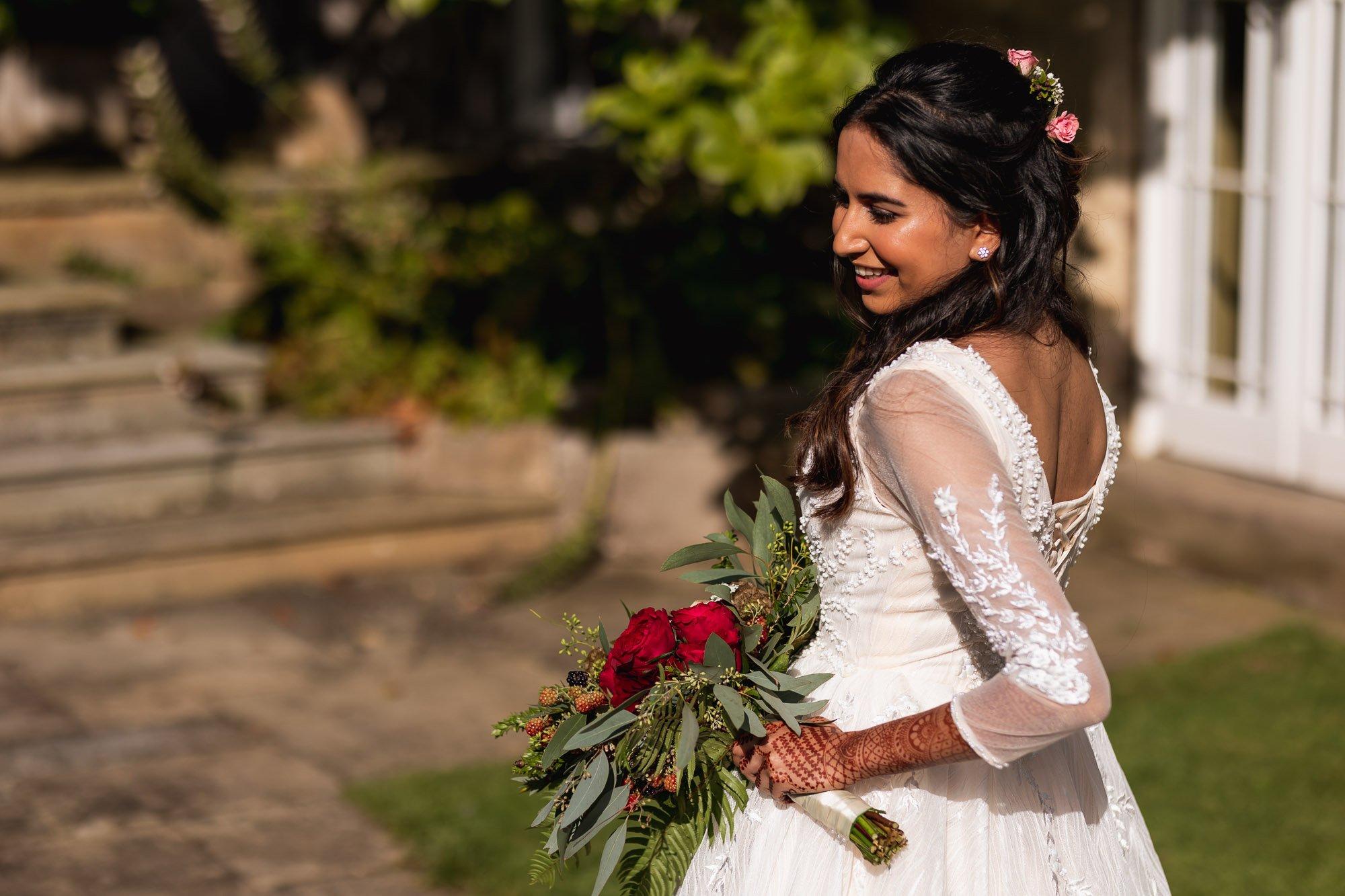Rudding Park, Yorkshire, Asian Wedding Photography, bridal portrait