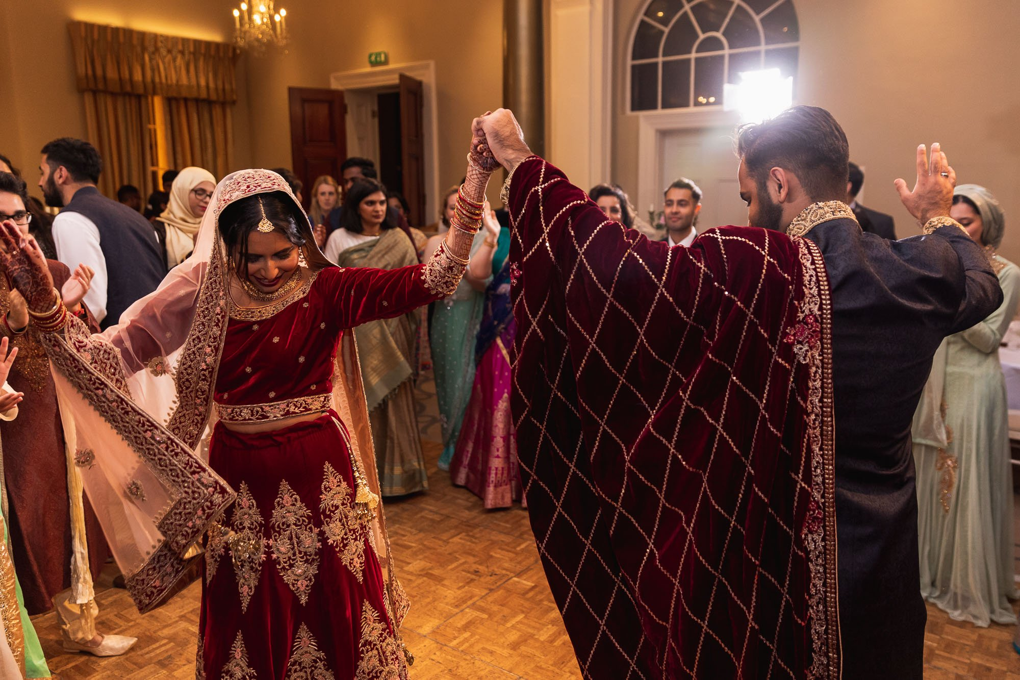 Rudding Park, Yorkshire, Asian Wedding Photography, dancefloor