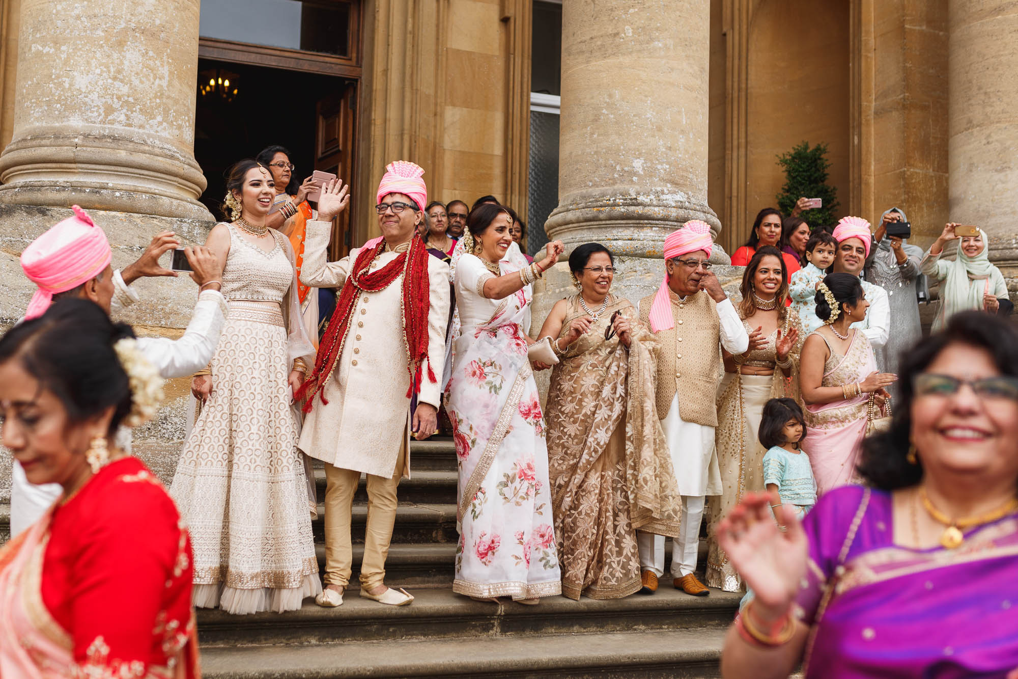 Heythrop Park Hotel, Oxfordshire, Groom arrival