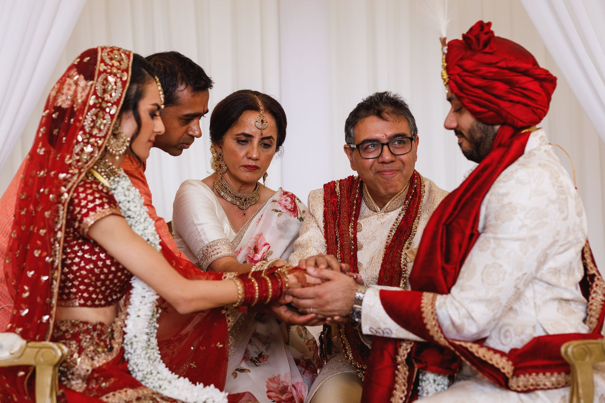 Heythrop Park Hotel, Oxfordshire, hindu wedding ceremony, Kanyadan
