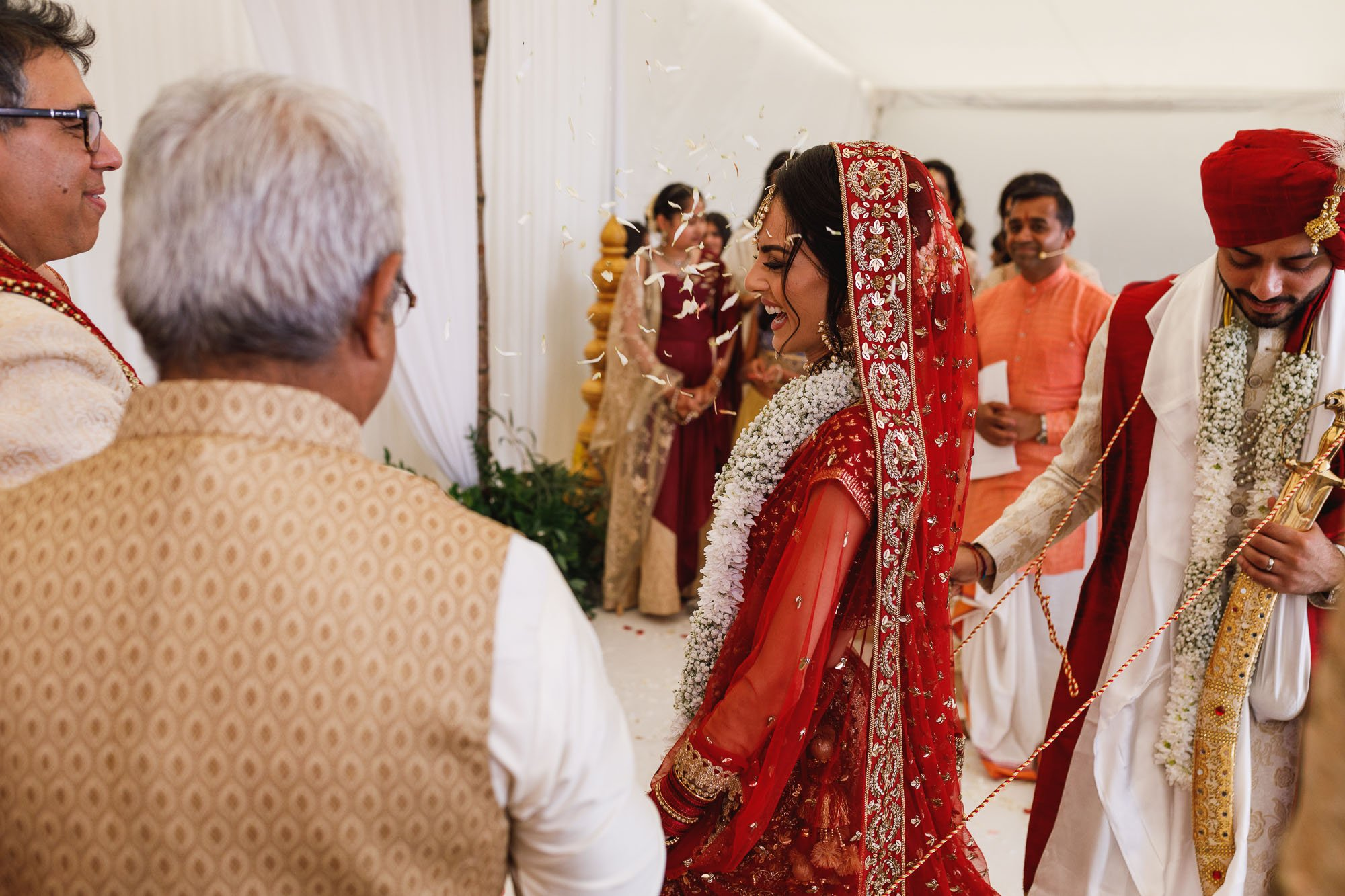 Heythrop Park Hotel, Oxfordshire, hindu wedding ceremony, Mangal Fera