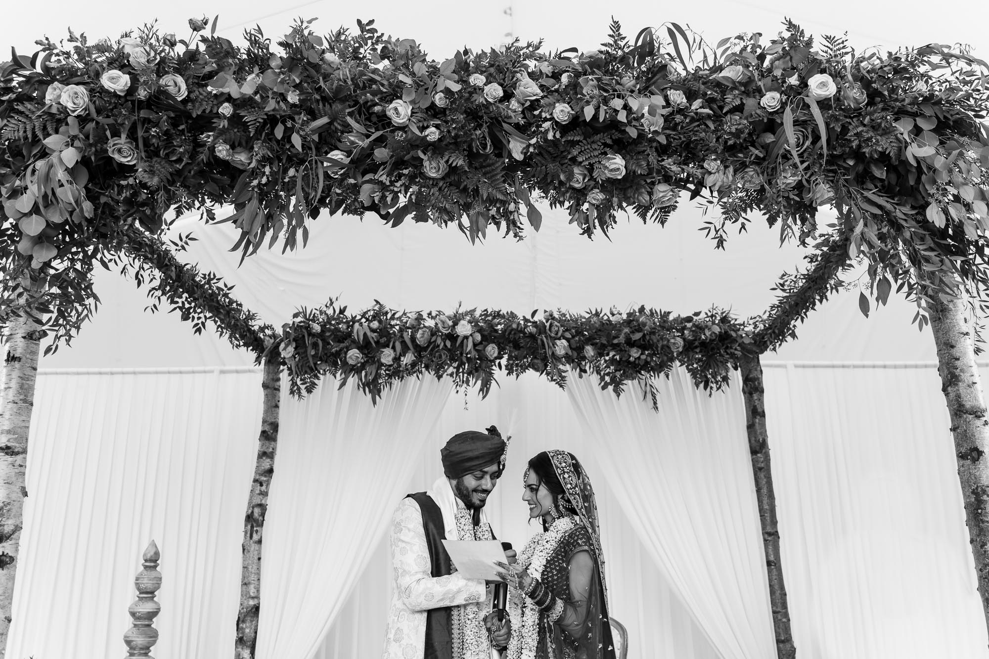Heythrop Park Hotel, Oxfordshire, hindu wedding ceremony, Sapdapadi