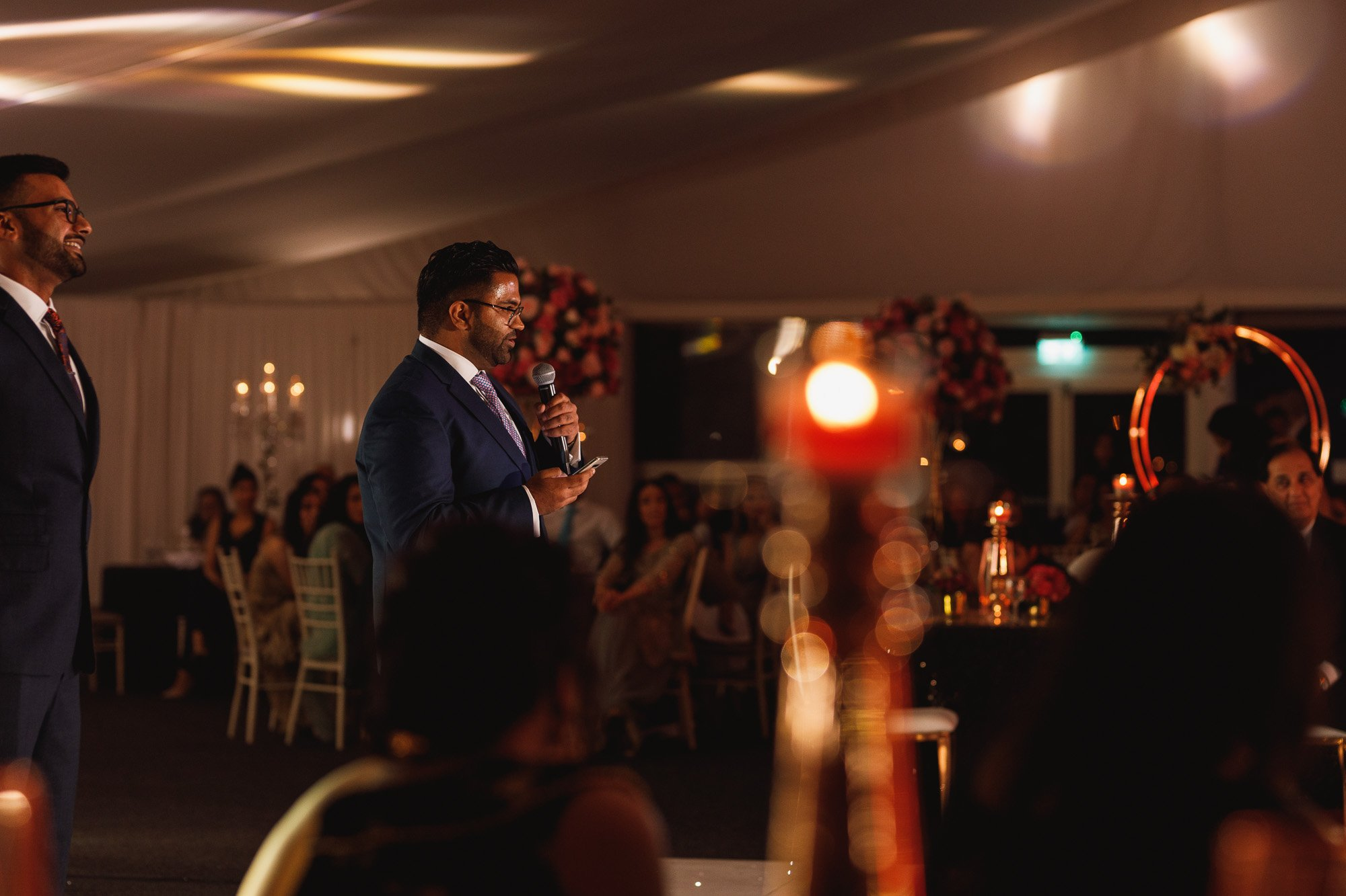 Heythrop Park Hotel, Oxfordshire, speeches