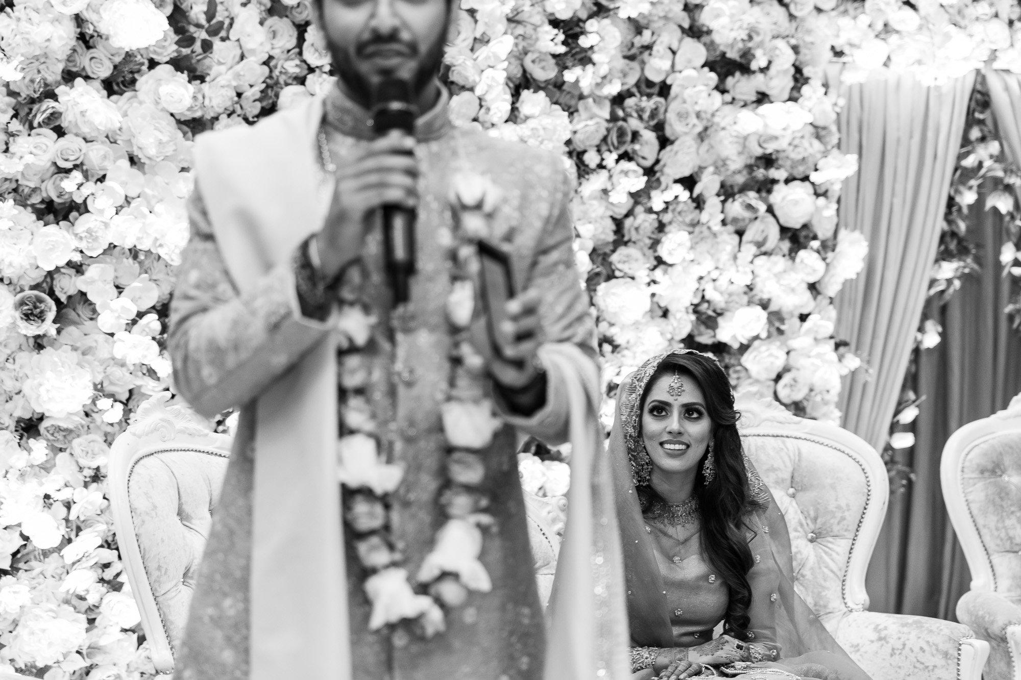 Epsom Racecourse, Surrey, Asian wedding photographer, speeches