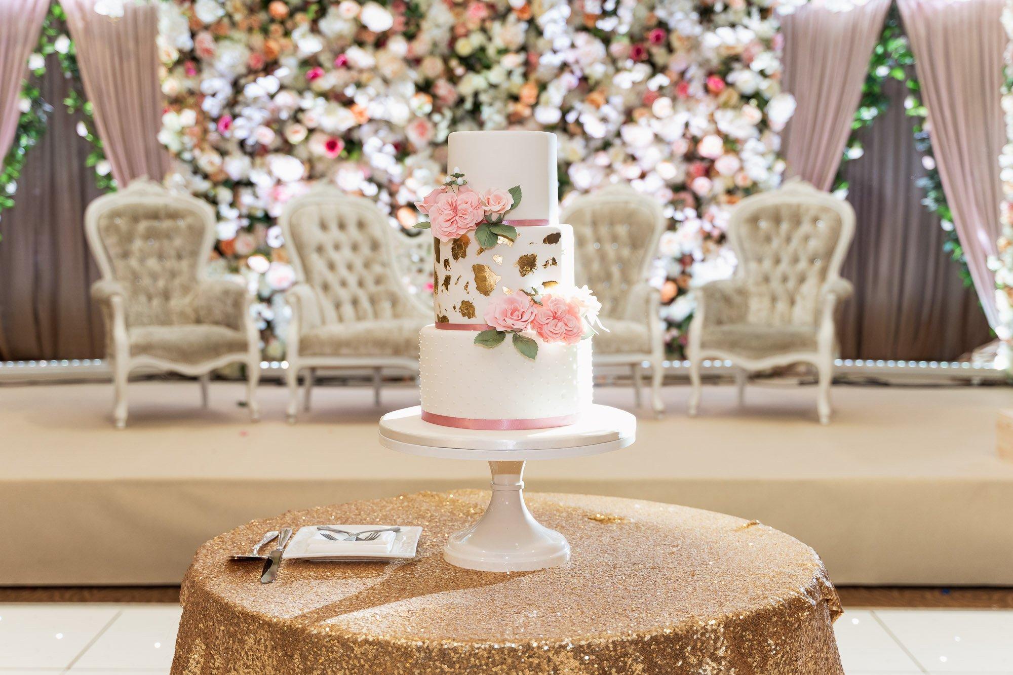 Epsom Racecourse, Surrey, Asian wedding photographer, wedding cake