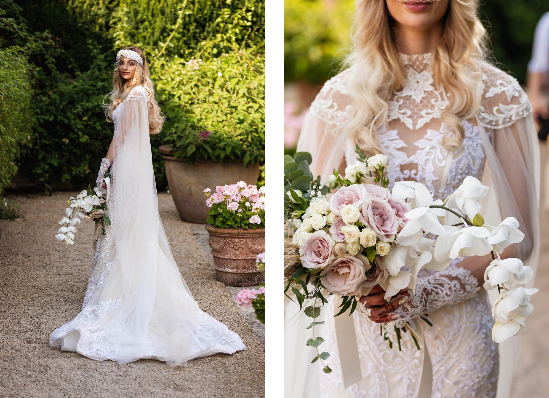 Euridge Manor, Cotswolds, civil ceremony, bridal portrait, bouquet, Cotswolds wedding photographer