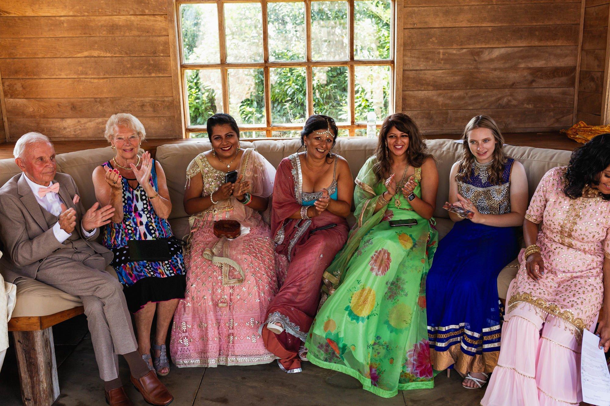 Euridge Manor, Cotswolds, Hindu wedding ceremony, Guests, Asian Wedding Photography