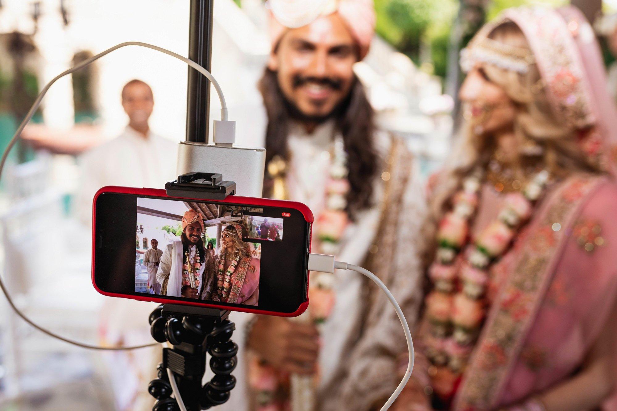 Euridge Manor, Cotswolds, Hindu wedding ceremony, live stream, Asian Wedding Photography