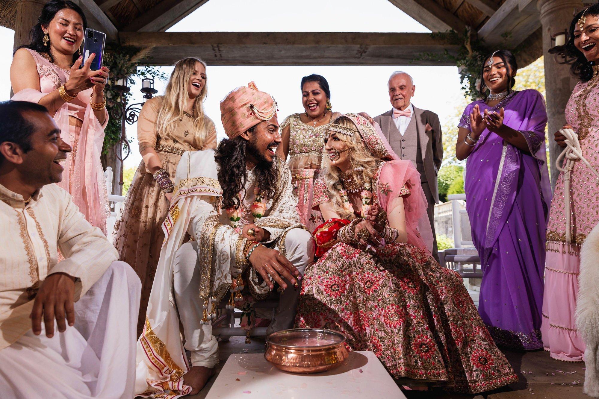 Euridge Manor, Cotswolds, Hindu wedding ceremony, Koda Kodi, Asian Wedding Photography