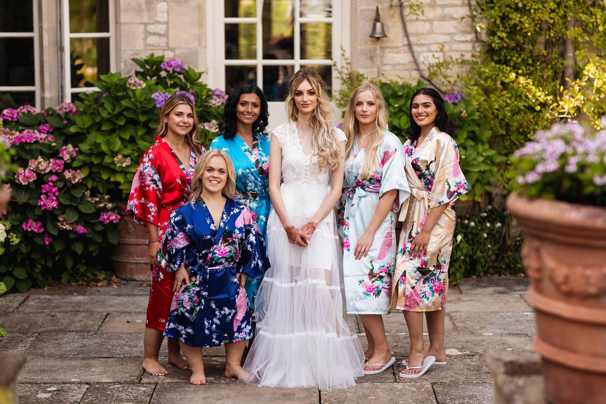Euridge Manor, Cotswolds, English bride, bridesmaid portrait, Asian Wedding Photography
