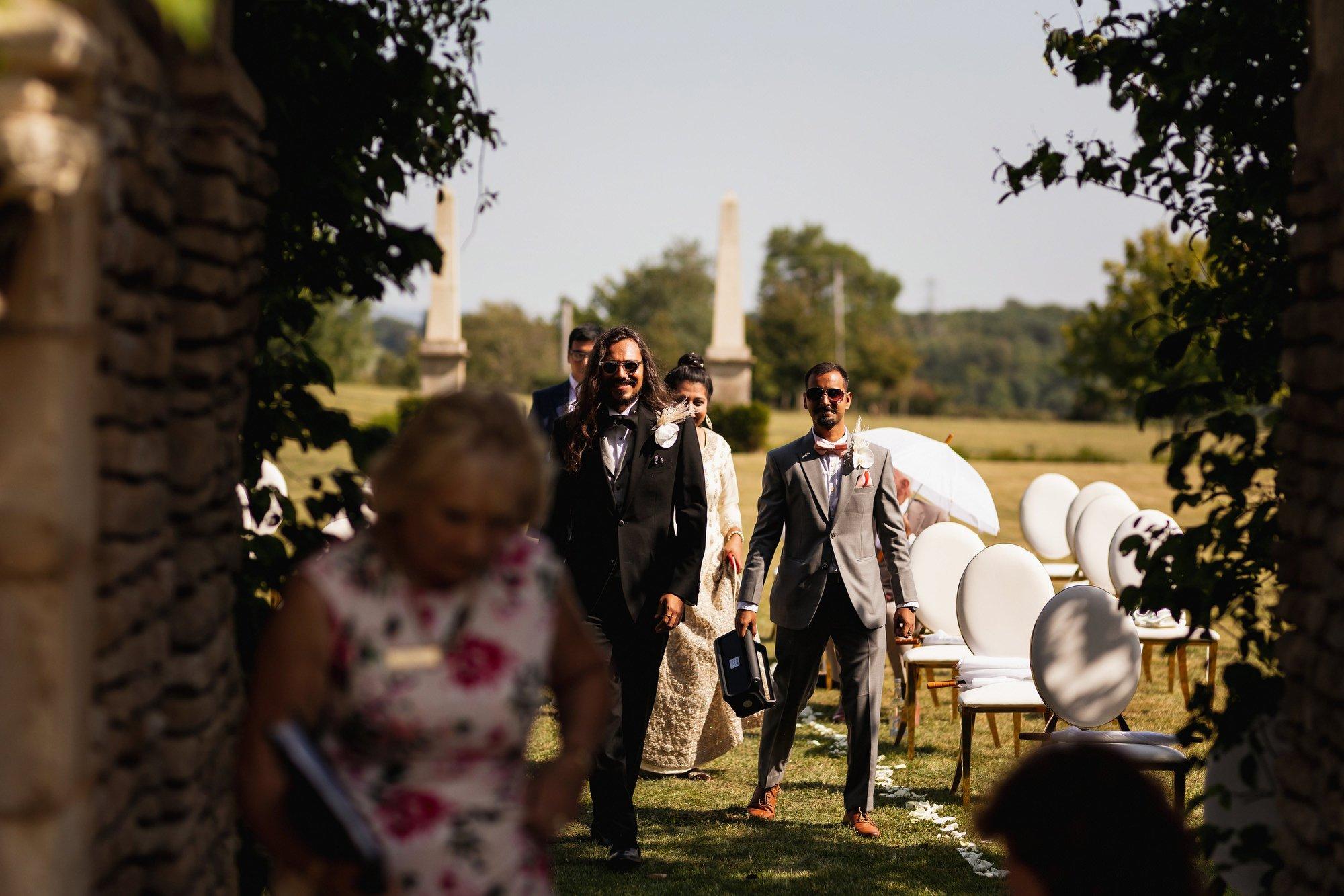 Euridge Manor, Cotswolds, civil ceremony, groom arrival, Cotswolds wedding photographer