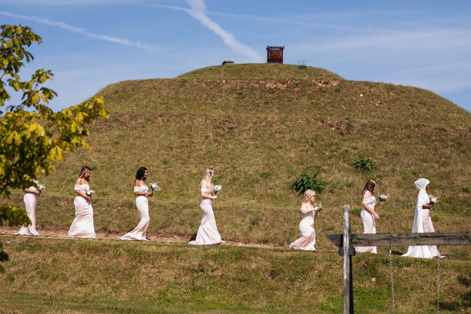 Euridge Manor, Cotswolds, civil ceremony, bridesmaids, Cotswolds wedding photographer
