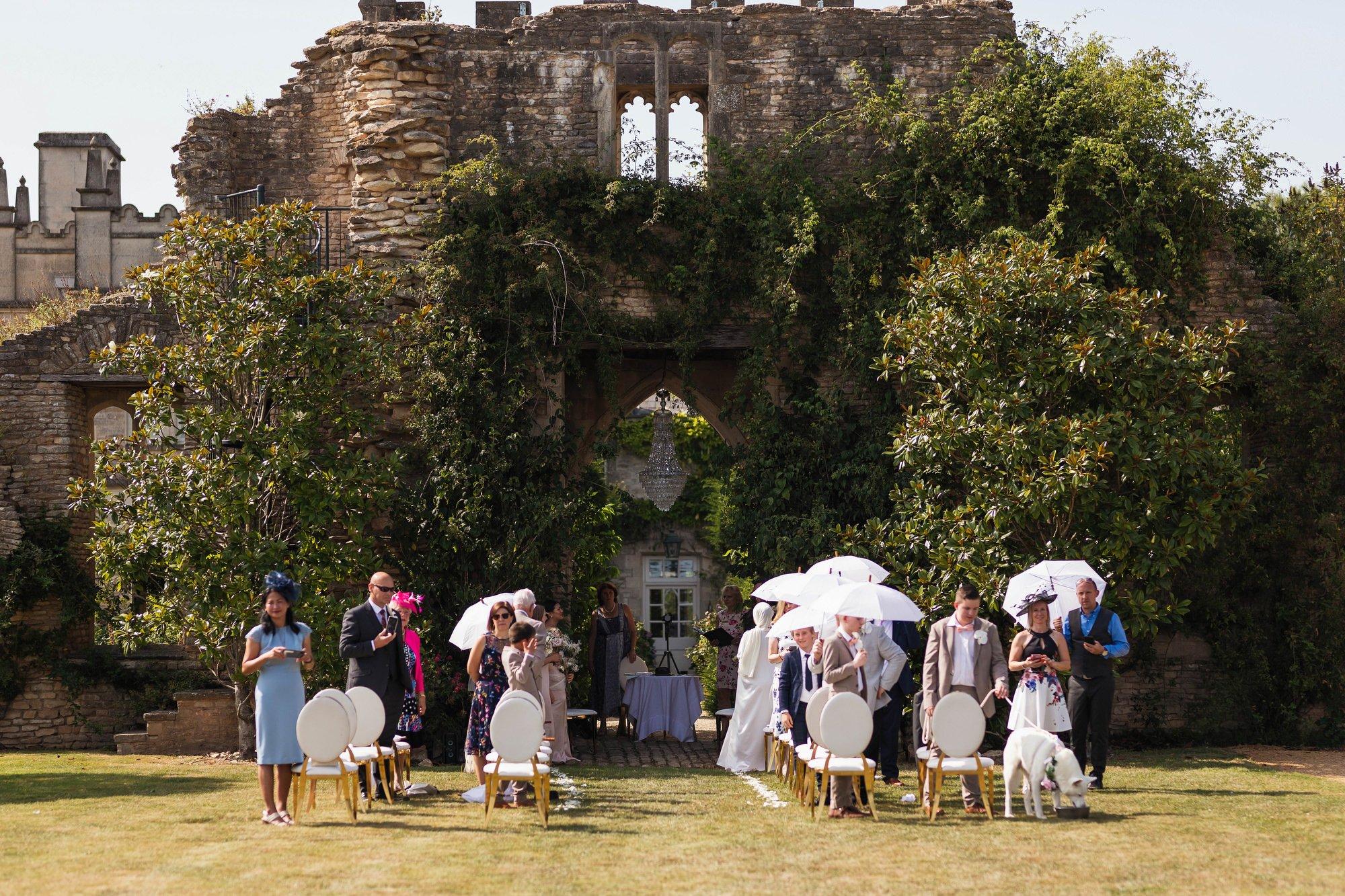 Euridge Manor, Cotswolds, civil ceremony, outdoors, Cotswolds wedding photographer