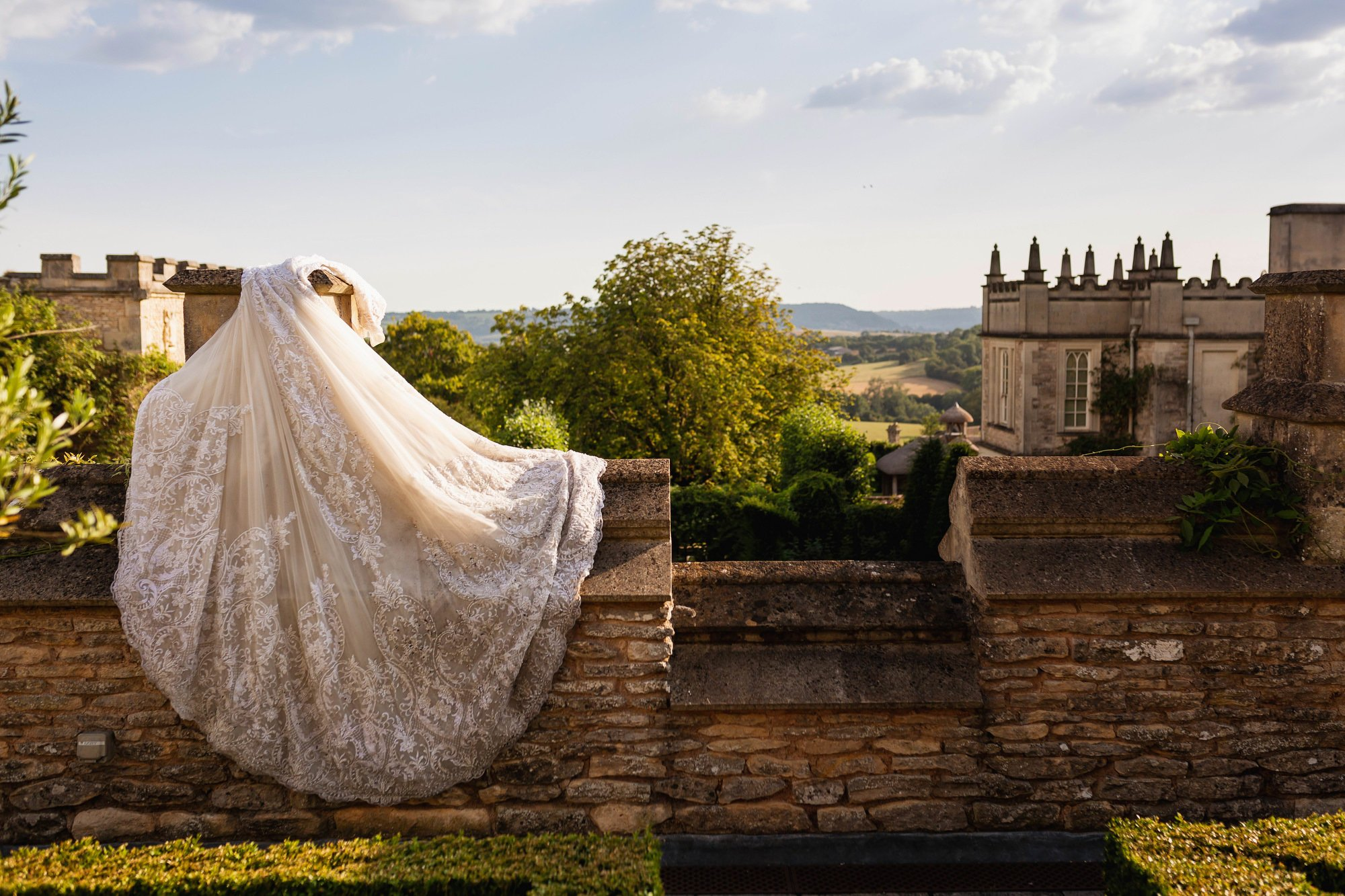 Euridge Manor, Cotswolds, bride and groom, trash the dress, Cotswolds wedding photographer