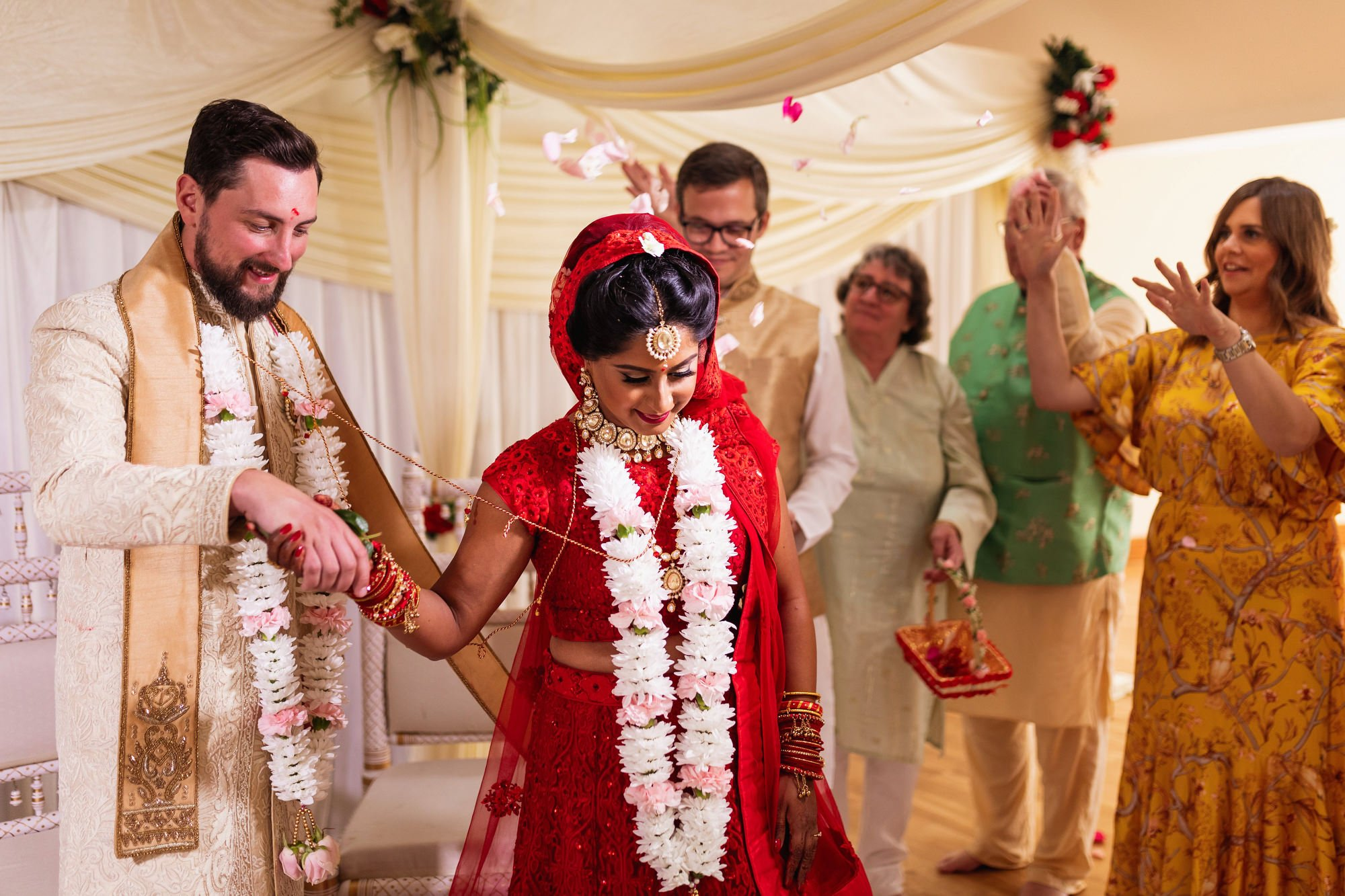 Shree Swaminarayan Temple, Stanmore, London, Indian wedding ceremony
