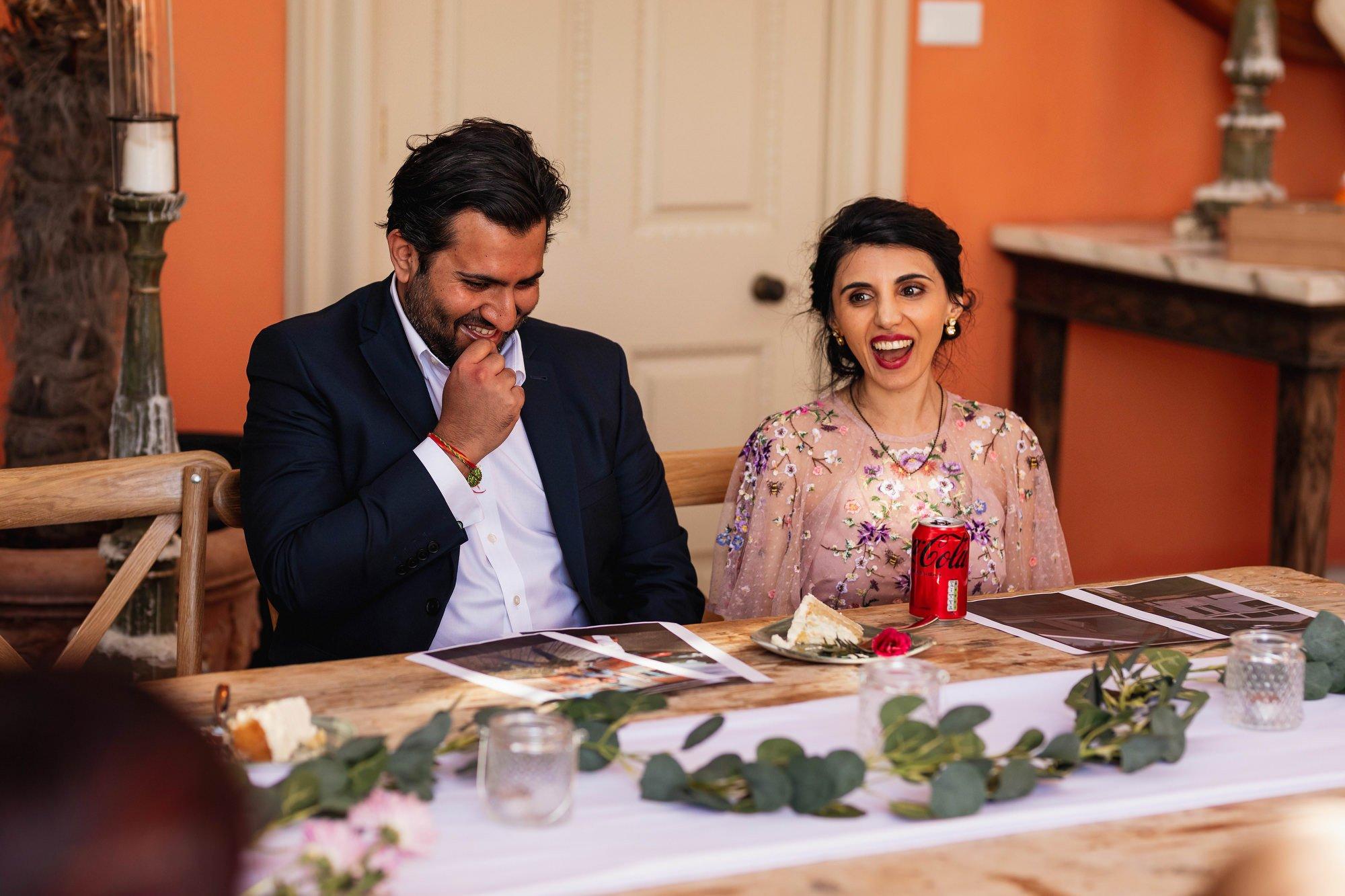 Indian wedding, speeches, Euridge Manor, Cotswolds, Asian wedding photographer