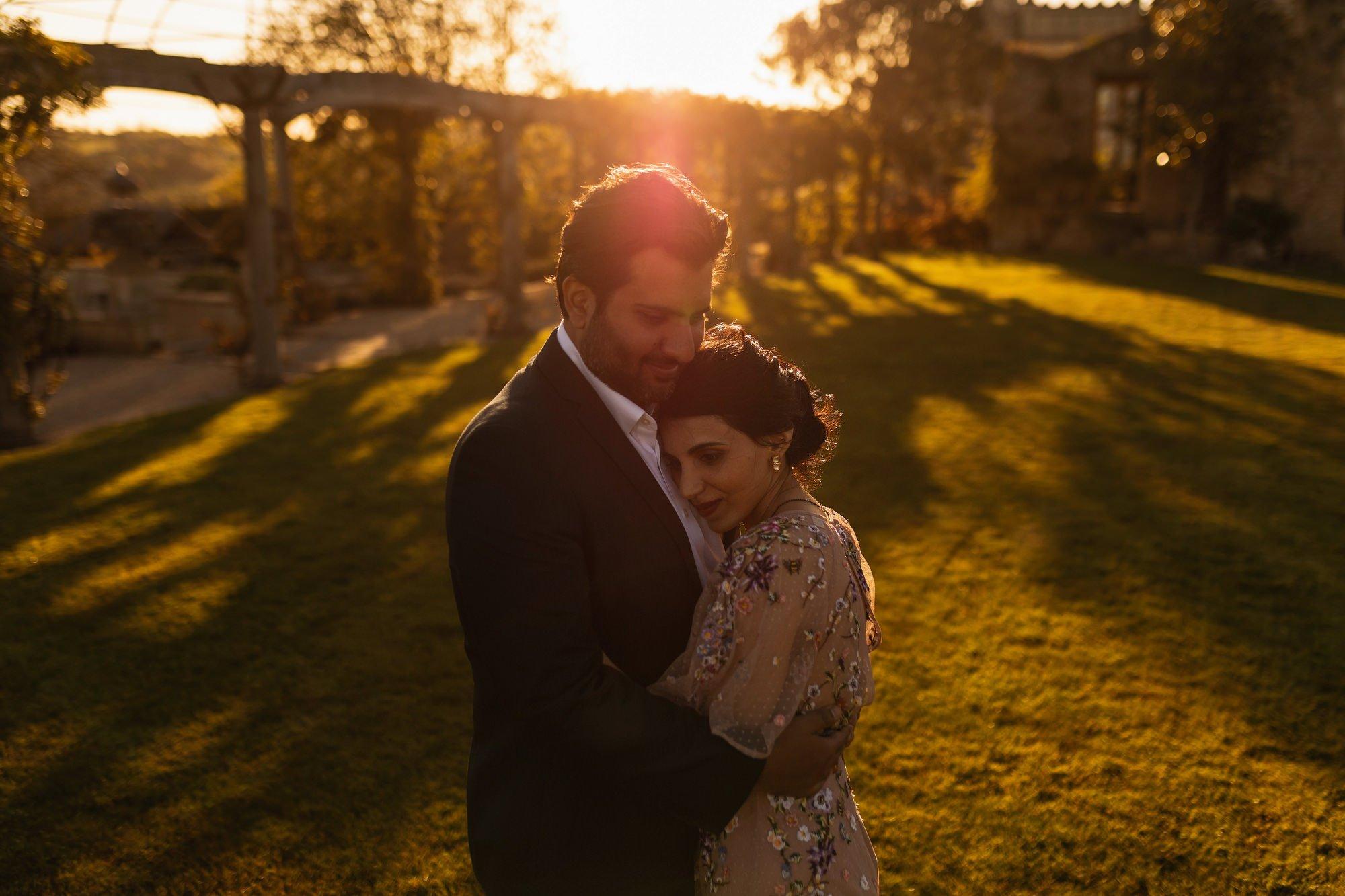 Indian wedding, couples portrait, Euridge Manor, Cotswolds, Asian wedding photographer