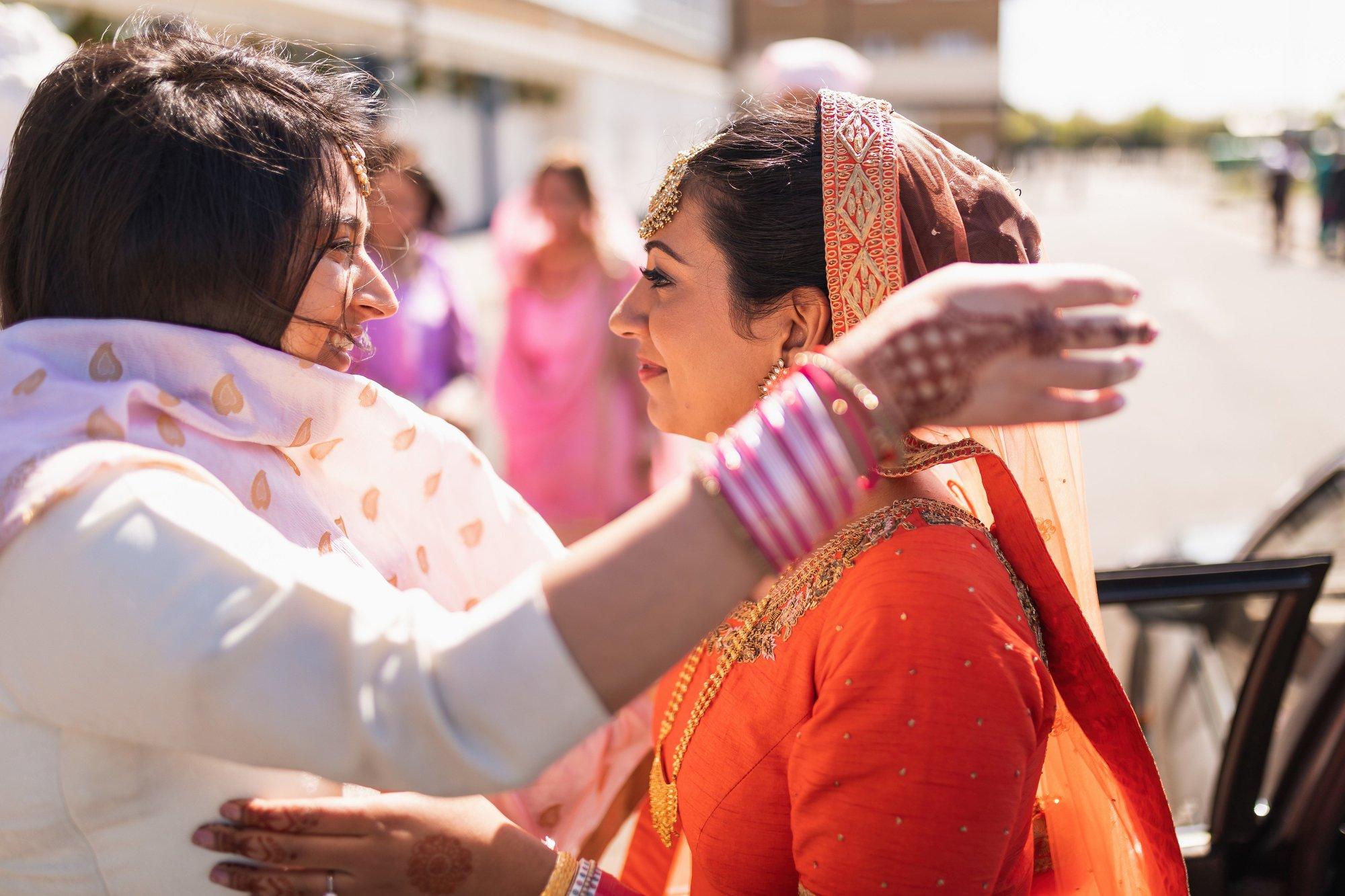 Guru Nanak Sikh Academy, London, Doli, Sikh wedding photographer